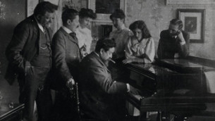 Sampling the original piano of Isaac Álbeniz